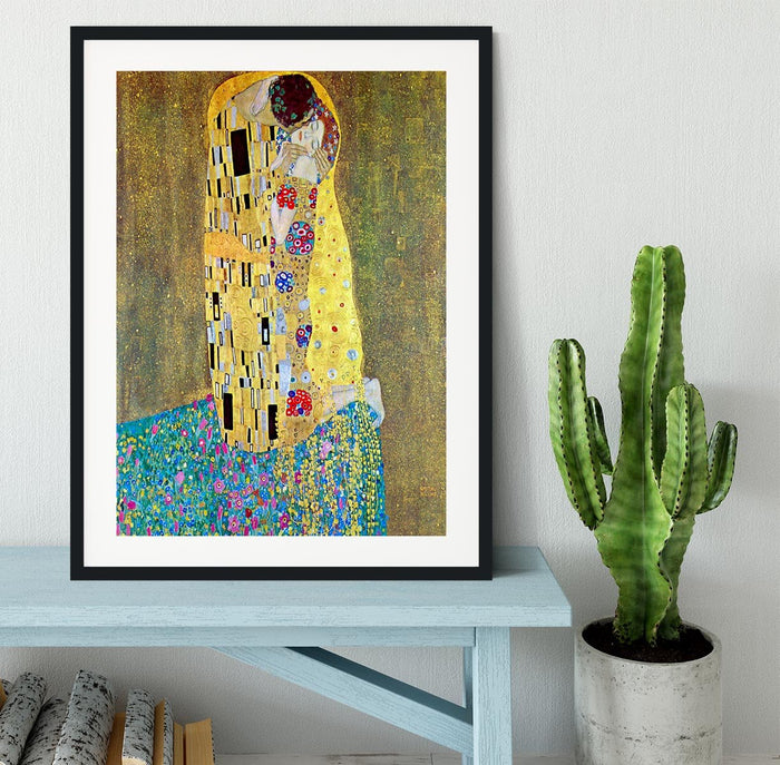 The Kiss 2 by Klimt Framed Print