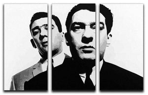 The Kray Twins 3 Split Canvas Print - Canvas Art Rocks