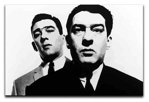 The Kray Twins Print - Canvas Art Rocks - 1
