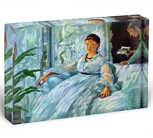 The Lecture by Manet Acrylic Block - Canvas Art Rocks - 1