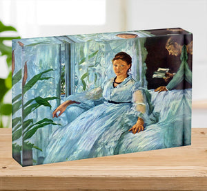The Lecture by Manet Acrylic Block - Canvas Art Rocks - 2