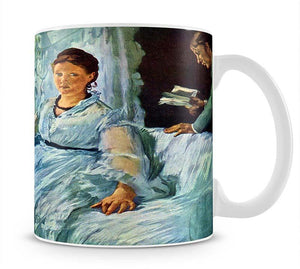 The Lecture by Manet Mug - Canvas Art Rocks - 1