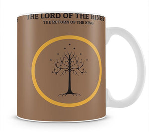 The Lord Of The Rings The Return Of The King Minimal Movie Mug - Canvas Art Rocks - 1