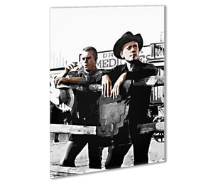 The Magnificent 7 Outdoor Metal Print - Canvas Art Rocks - 1