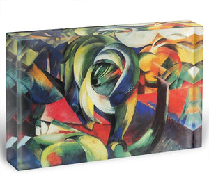 The Mandrill by Franz Marc Acrylic Block - Canvas Art Rocks - 1