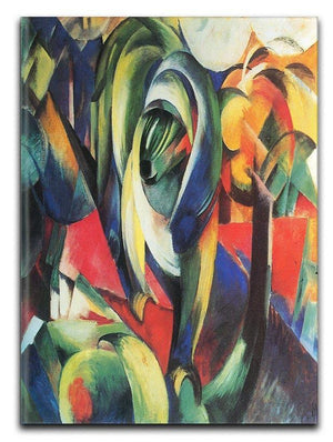 The Mandrill by Franz Marc Canvas Print or Poster  - Canvas Art Rocks - 1