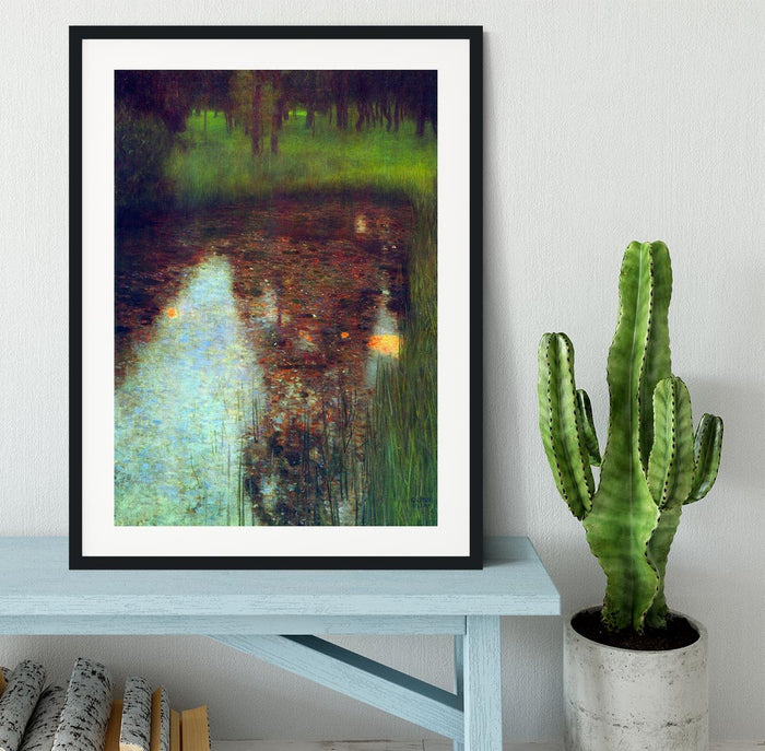 The Marsh by Klimt Framed Print