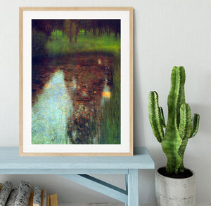 The Marsh by Klimt Framed Print - Canvas Art Rocks - 3
