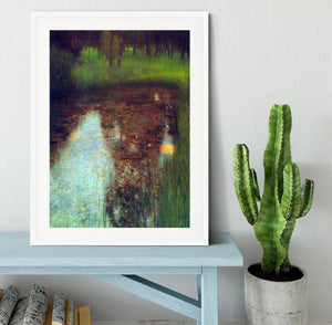 The Marsh by Klimt Framed Print - Canvas Art Rocks - 5