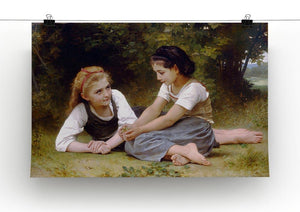 The Nut Gatherers By Bouguereau Canvas Print or Poster - Canvas Art Rocks - 2