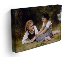The Nut Gatherers By Bouguereau Canvas Print or Poster - Canvas Art Rocks - 3