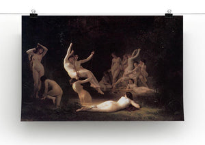 The Nymphaeum By Bouguereau Canvas Print or Poster - Canvas Art Rocks - 2