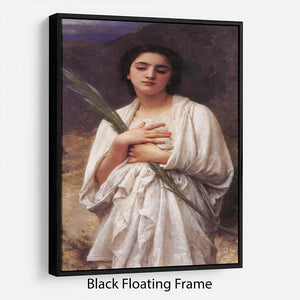 The Palm Leaf By Bouguereau Floating Frame Canvas