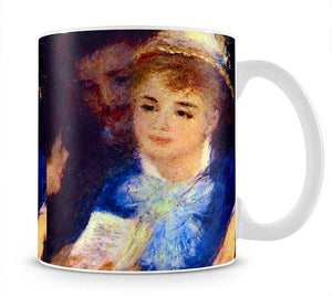 The Perusal of the Part by Renoir Mug - Canvas Art Rocks - 1