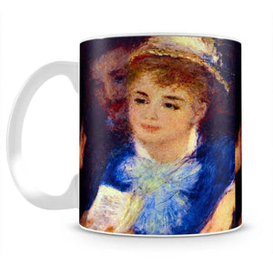 The Perusal of the Part by Renoir Mug - Canvas Art Rocks - 2