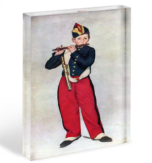 The Piper by Manet Acrylic Block - Canvas Art Rocks - 1