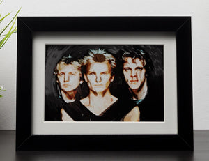 The Police Framed Print - Canvas Art Rocks - 1