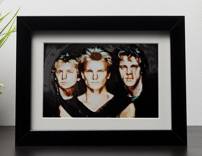 The Police Framed Print