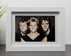 The Police Framed Print - Canvas Art Rocks - 3