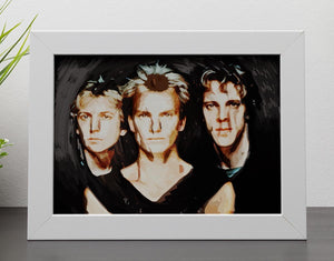 The Police Framed Print - Canvas Art Rocks - 4
