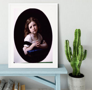 The Prayer By Bouguereau Framed Print - Canvas Art Rocks - 5