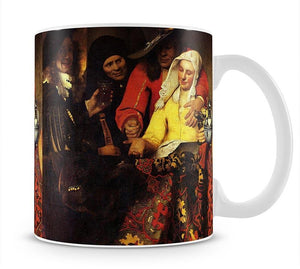 The Procuress by Vermeer Mug - Canvas Art Rocks - 1