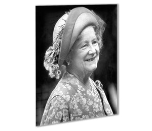 The Queen Mother at the Epsom Derby Outdoor Metal Print - Canvas Art Rocks - 1