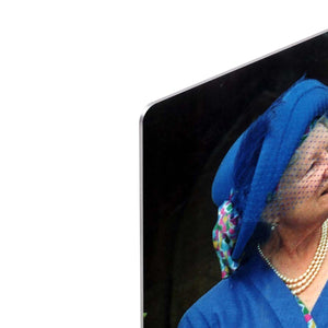 The Queen Mother with Prince William and Prince Harry HD Metal Print