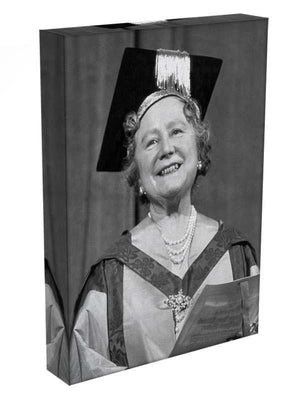 The Queen Mother with her honorary music degree Canvas Print or Poster - Canvas Art Rocks - 3
