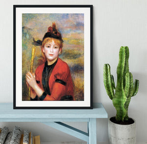 The Rambler by Renoir Framed Print - Canvas Art Rocks - 1
