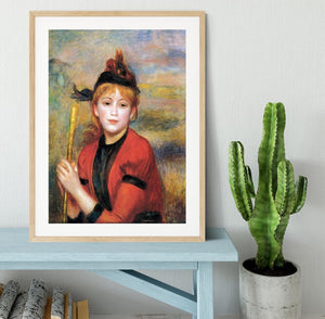 The Rambler by Renoir Framed Print - Canvas Art Rocks - 3