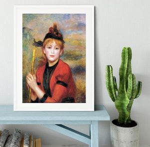 The Rambler by Renoir Framed Print - Canvas Art Rocks - 5