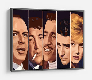 The Rat Pack Ocean's 11 HD Metal Print