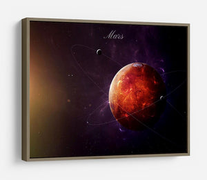 The Red Planet Mars HD Metal Print