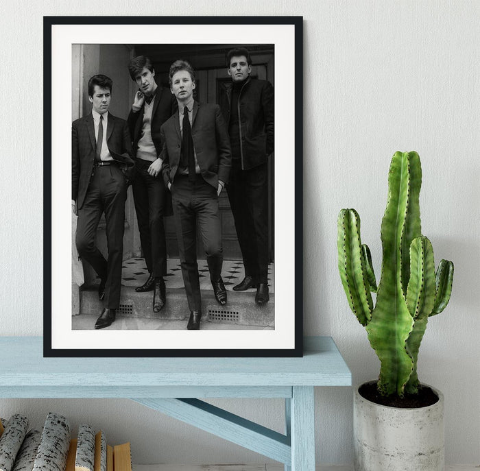 The Searchers in a doorway Framed Print