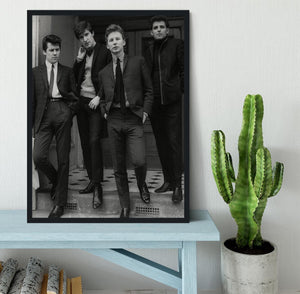 The Searchers in a doorway Framed Print - Canvas Art Rocks - 2