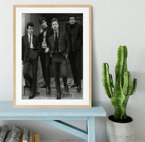 The Searchers in a doorway Framed Print - Canvas Art Rocks - 3