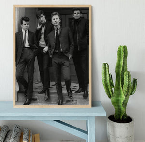 The Searchers in a doorway Framed Print - Canvas Art Rocks - 4