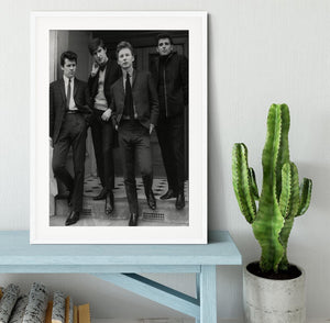 The Searchers in a doorway Framed Print - Canvas Art Rocks - 5
