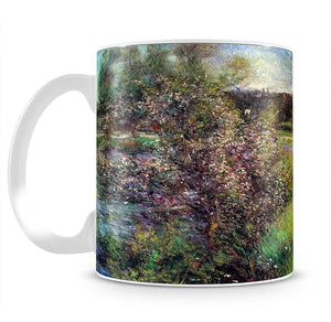 The Seine at Chatou by Renoir Mug - Canvas Art Rocks - 2