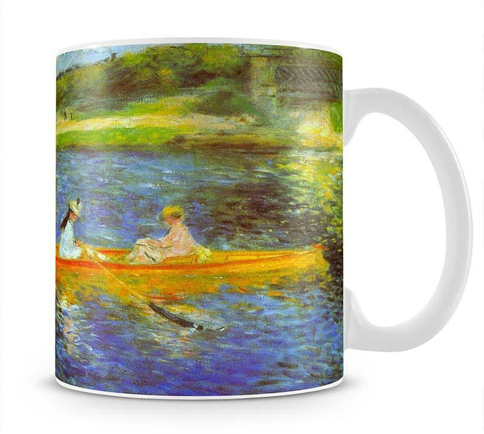 The Seine by Renoir Mug