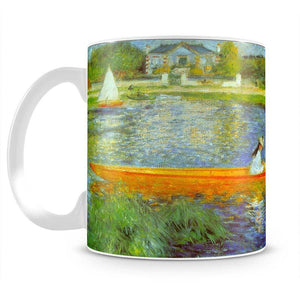 The Seine by Renoir Mug - Canvas Art Rocks - 2