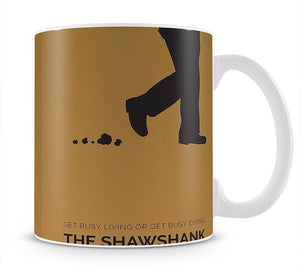 The Shawshank Redemption Minimal Movie Mug - Canvas Art Rocks - 1