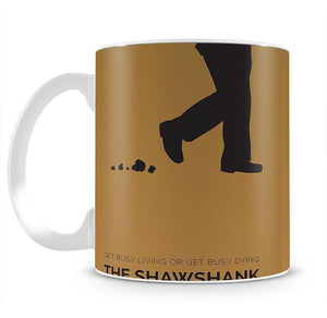 The Shawshank Redemption Minimal Movie Mug - Canvas Art Rocks - 2