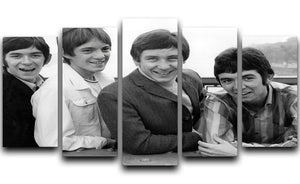 The Small Faces 5 Split Panel Canvas - Canvas Art Rocks - 1