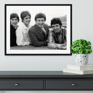 The Small Faces Framed Print - Canvas Art Rocks - 1