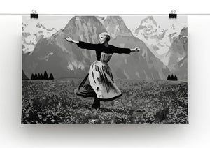 The Sound Of Music Black and White Print - Canvas Art Rocks - 2