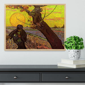 The Sower by Van Gogh Framed Print - Canvas Art Rocks - 4
