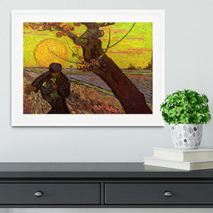 The Sower by Van Gogh Framed Print - Canvas Art Rocks - 5