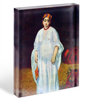 The Sultan by Manet Acrylic Block - Canvas Art Rocks - 1